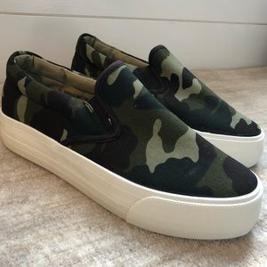 Restriction | Camo Sneakers